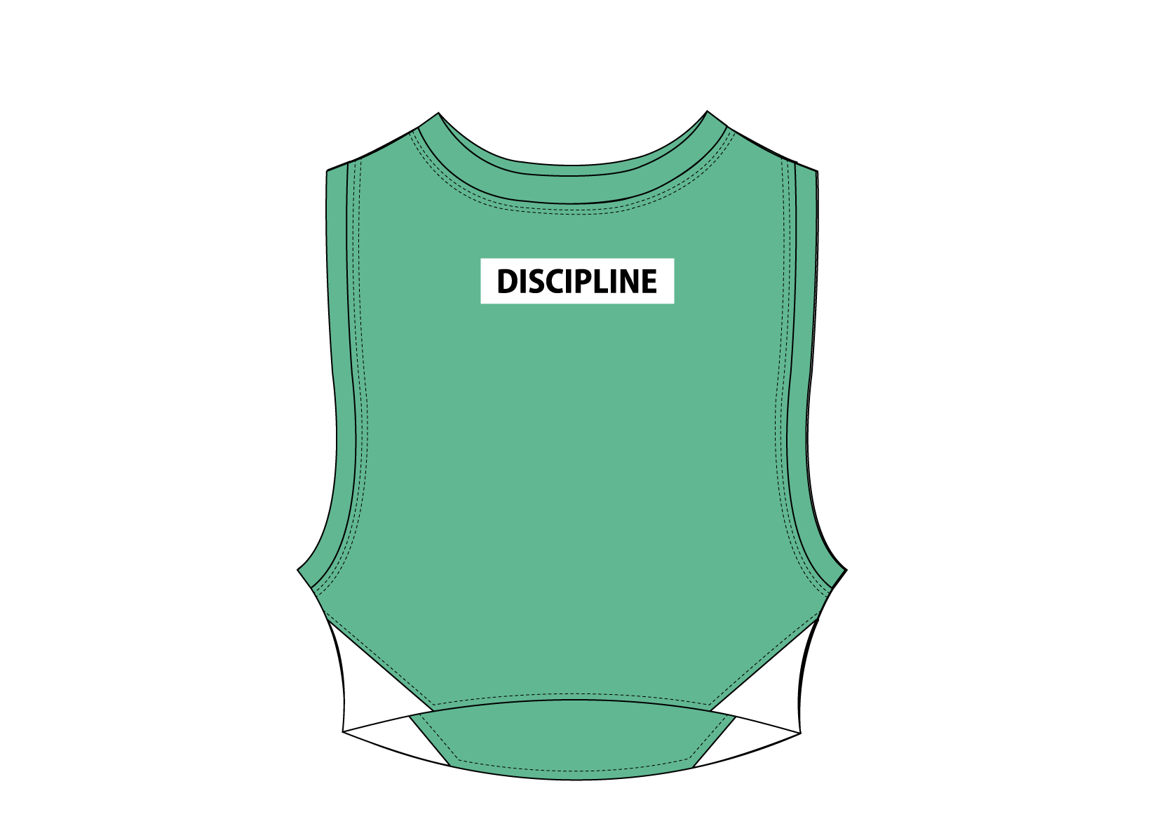 Active Sleeveless Graphic Crop top 2F manufacturer