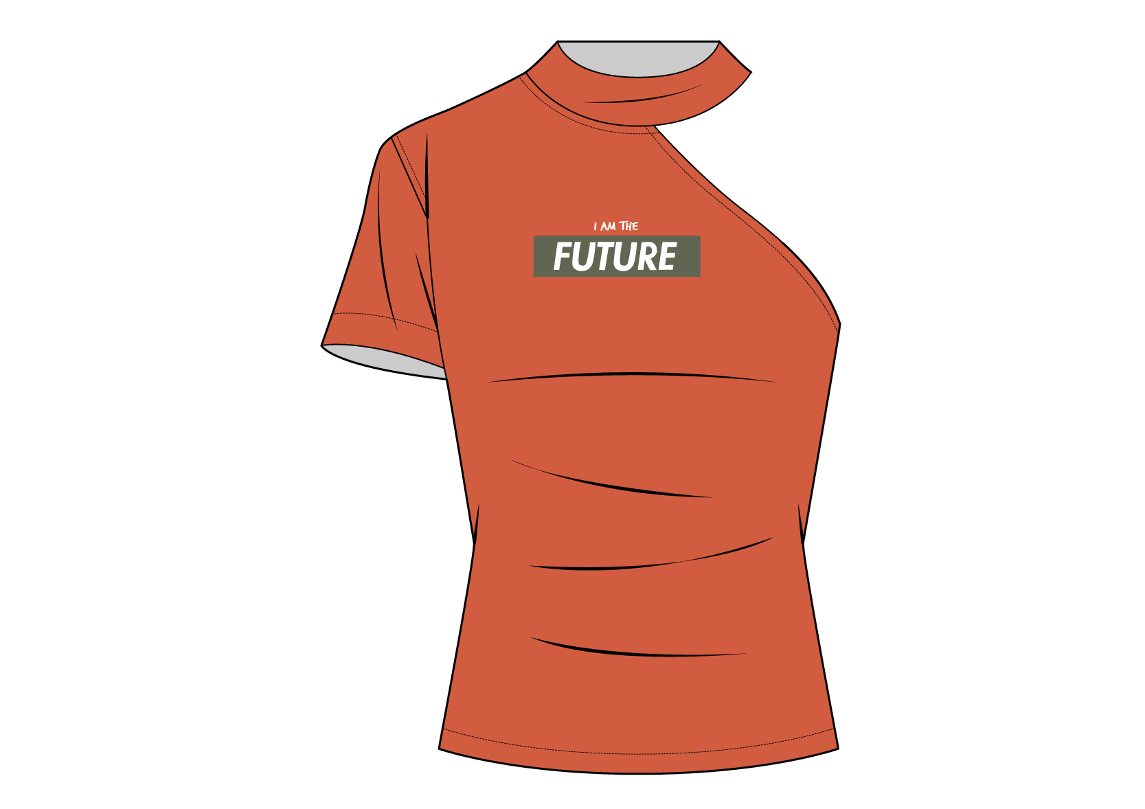 Active Compression Graphic Tee F manufacturer